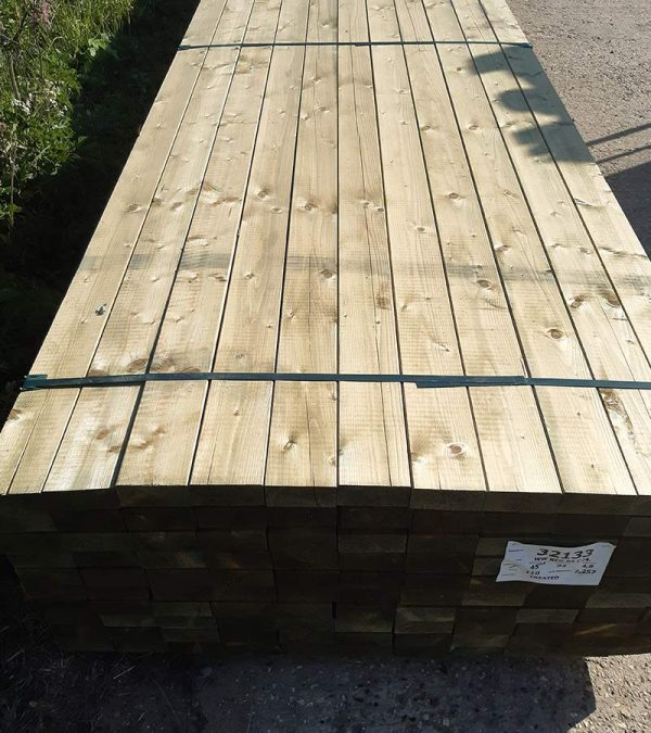 95 X 47 X 4.8m C24 (4 X 2) - Carcassing Timber and Decking