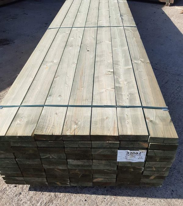 145 X 47 X 4.8m C24 (6 X 2) - Carcassing Timber and Decking